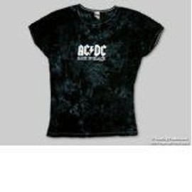 T-Shirt AC/DC - Back In Black - Ado -Large - Import Direct USA