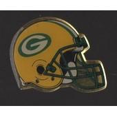 Pin's Football Am�ricain / Casque Des Packers De Green Bay