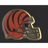 Pin's Football Am�ricain / Casque Tigre Des Bengals De Cincinnati