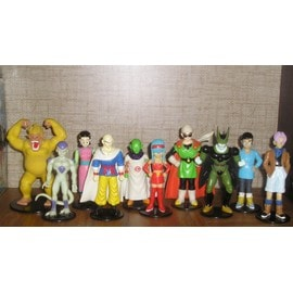 lot de 10 figurines dragon ball z /gt (DBZ/DBGT) marque atlas 1996
