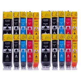 Pack De 20 Cartouches D'encre Pour Canon Pgi550 Cli551 , Canon Pgi 550 Cli 551 (Bk,C,Y,M)