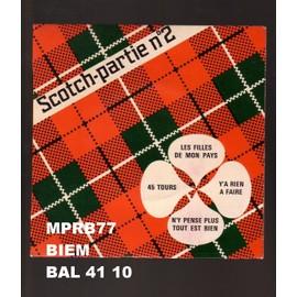 Scotch - Partie N°2  -  45 Tours  BIEM – BAL 41 10