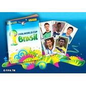 Album Panini / Coupe Du Monde 2014 - Fifa World Cup Brasil - Inclus : Une Carte Supporter + 340 Stickers : Aucun Double (Official Licensed Sticker Album) + Un Bracelet Brazileto Du Br�sil
