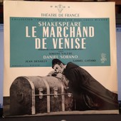 William Shakespeare: Le Marchand De Venise (Od�on Th�atre De France Madeleine Renaud, Jean-Louis Barrault) - Claude-Andr� Puget, Simone Val�re, Daniel Sorano, Jean Desailly, Gabriel Cattand, Andr� Batisse, Robert Lombard