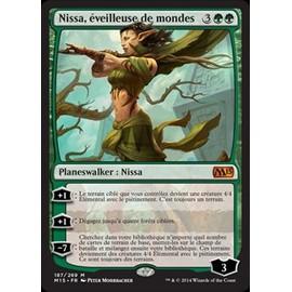 Nissa, �veilleuse De Mondes - Magic Mtg