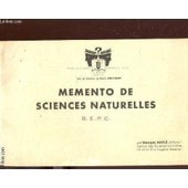 Memento De Sciences Naturelles - B.E.P.C.. de DUOLE GEORGES