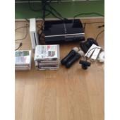 Ps3 Fat 80 Go + 1 Manette + Wii Rvl-001 + Deux Manettes + Play Station Move+2 Manettes Play Station Move + 13 Jeux Ps3 Et Wii Confondus