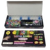 Loom Bands - Kit De Fabrication De Bracelets - M�tier � Tisser, Crochet, 600 �lastiques