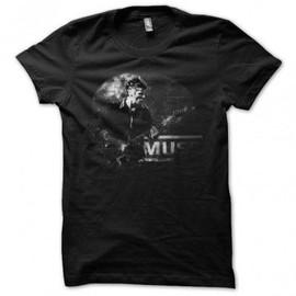 T-shirt Muse version classique noir