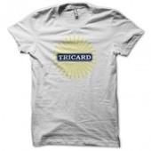 T-Shirt Tricard Parodie Ricard Blanc