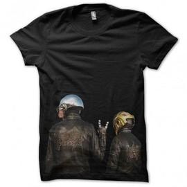 T-shirt daft punk noir