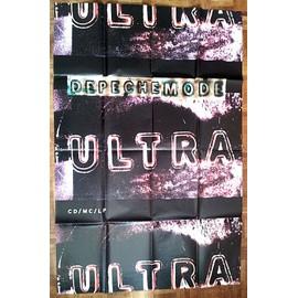 Depeche Mode - Poster Ultra 1997 - format métro plié