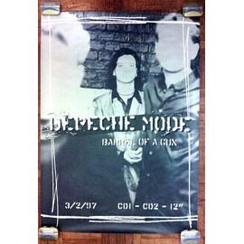 Depeche Mode - Poster Barrel Of A Gun 1997 roulé