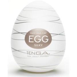 Masturbateur Tenga Egg Silky Marron