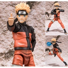 Naruto Shippuden- Action Figure Naruto Uzumaki - Sh Figuarts Collection
