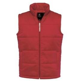 Gilet Doudoune Sans Manches Homme - Bodywarmer Men 414-42 Rouge