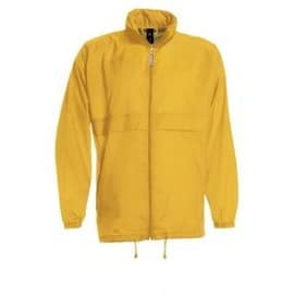 Coupe Vent Imperm�able Homme - Sirocco Men - Jaune Gold