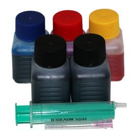 Kit De Recharge Pour Hp 300xl Noir / Hp 300xl Couleur - 3x30ml Couleur, 3x30ml Noir + 1 Seringue G�n�riquecouleur - 3x30ml Couleur, 3x30ml Noir + 1 Seringue G�n�rique