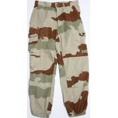 Pantacourt / Pantalon Treillis Court F2 Arm�e Fran�aise Camo D�sert Daguet Camouflage Cam