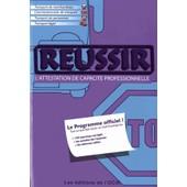 R�ussir L'attestation De Capacit� Professionnelle de Fran�ois Lespagnon