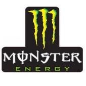 Magnifique Sticker Autocollant Monster Energy 6 X 4,9 Cm