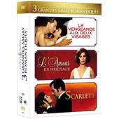 Grandes Sagas Romantiques : La Vengeance Aux Deux Visages + L'amour En H�ritage + Scarlett - Pack de Karen Arthur