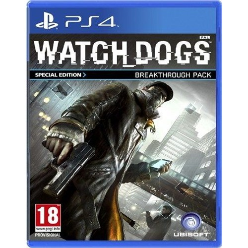 Watch Dogs Edition Sp�ciale Fnac PS4