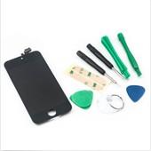 Vitre Tactile + Ecran Lcd Pour Iphone 5 Noir + Outils
