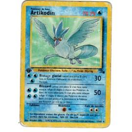 Artikodin Fossil 17/62 Rare Non Holo