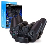 Gamekraft Chargeur Ps3 - Pour 2 Manettes Sony Playstation 3 - Prise Usb