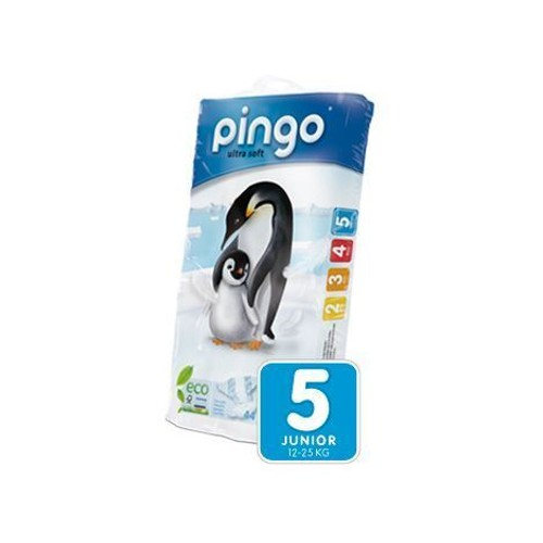 Pingo couches ecologiques junior 12/25kg taille 5x44 couches