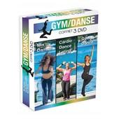 Coffret Gym-Dance : Mix Danses + Cardio Dance Latino + Gym Dance - Pack