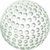 Longridge Cr06pw Presse-Papier Balle De Golf En Cristal Mixte Adulte 10 X 10 X 8 Cm