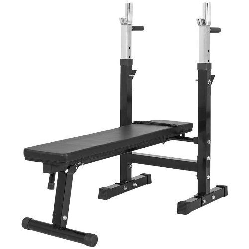 Gorilla Sports Gs006 Banc De Musculation Avec Support De Bar