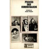 Le Proc�s Des Communards / Jacques Rougerie de jacques rougerie