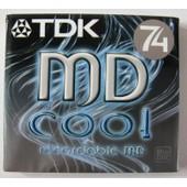 Tdk Md-C74seb - Tdk Md Cool - Minidisc 74 Minutes