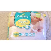 Couches Jetables Pampers Micro New Baby 1-2.5 Kg