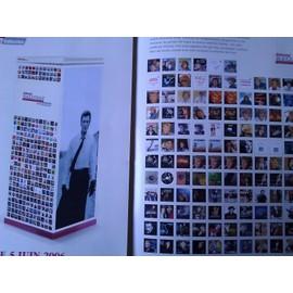Johnny Hallyday - Leaflet promo Integrale 45 T et Cd singles