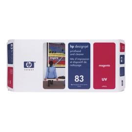 Hp 83 - Magenta - T�te D'impression Avec Nettoyeur - Pour Designjet 5000, 5000ps, 5000ps Uv, 5000uv, 5500 Uv, 5500ps, 5500ps Uv