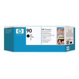 Hp 90 - Noir - T�te D'impression Avec Nettoyeur - Pour Designjet 4000, 4020, 4500, 4520; Designjet Scanner 4520