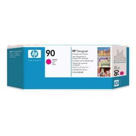Hp 90 - Magenta - T�te D'impression Avec Nettoyeur - Pour Designjet 4000, 4020, 4500, 4520; Designjet Scanner 4520