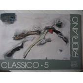 Fabriano Classico 5 - 20 Feuilles - 50% Coton - 160g/M� - 35.5x51cm