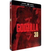 Godzilla - Steelbook Ultimate �dition - Blu-Ray3d + Blu-Ray+ Dvd + Copie Digitale de Gareth Edwards