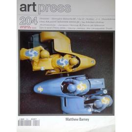 Art Press N� 204 : Matthew Barney