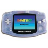 Game Boy Advance Glacier Transparent