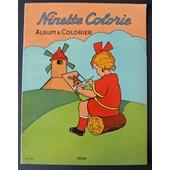 Ninette Colorie Album � Colorier N� 1735 de Anonyme