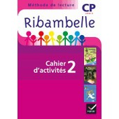 Ribambelle Cp S�rie Violette - Pack : Cahier D'activit�s 2 + Livret D'entrainement 2 de Jean-Pierre Demeulemeester