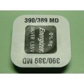 1 Pile 390-389 Sr1130sw/Sr1130w/Sr54 Energizer 1,55v Pile Bouton Pour Montre 0% Mercure