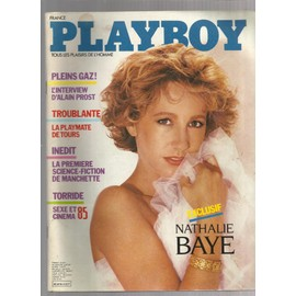 Playboy (France) N� 3 : Nathalie Baye