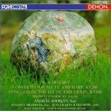 Concerto Pour Flute Harpe Et Orchestrekv 299 - Kv 190- Kv 184 - Wolfgang Amadeus Mozart
